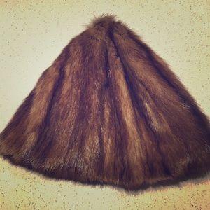 Hermes Vintage Fur Hat